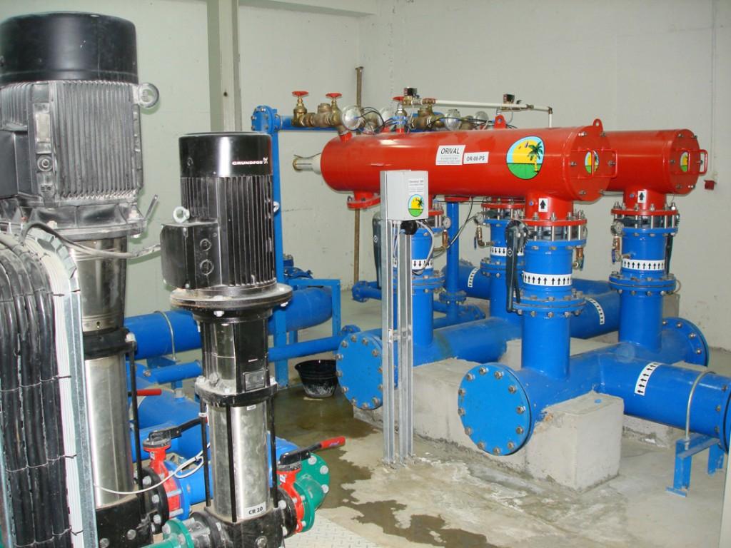Orient Irrigation Services | Sea Water Intake & Pump Complex